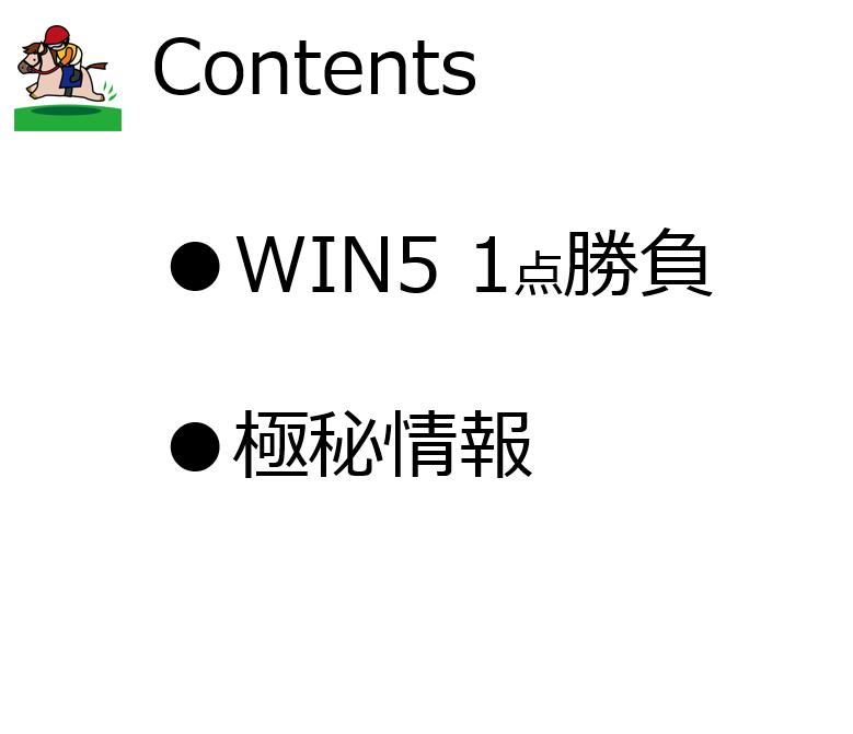 【競馬WIN5】おまけ企画起動 11/3(日)のWIN5 1点勝負 第5回